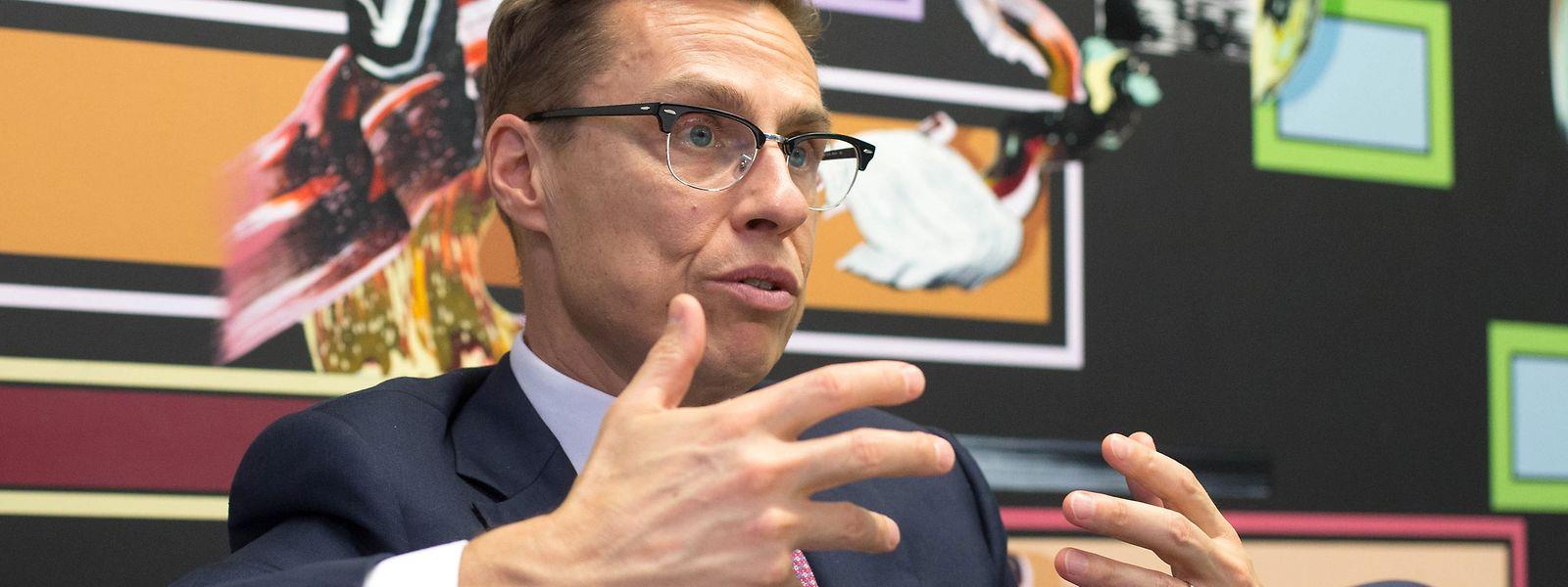 Alexander Stubb will Spitzenkandidat der EVP werden.
