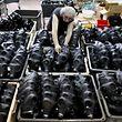 Vorbereitung auf den schlimmsten Fall: Israels größte Fabrik für Gasmasken in Kiryat Gat.
