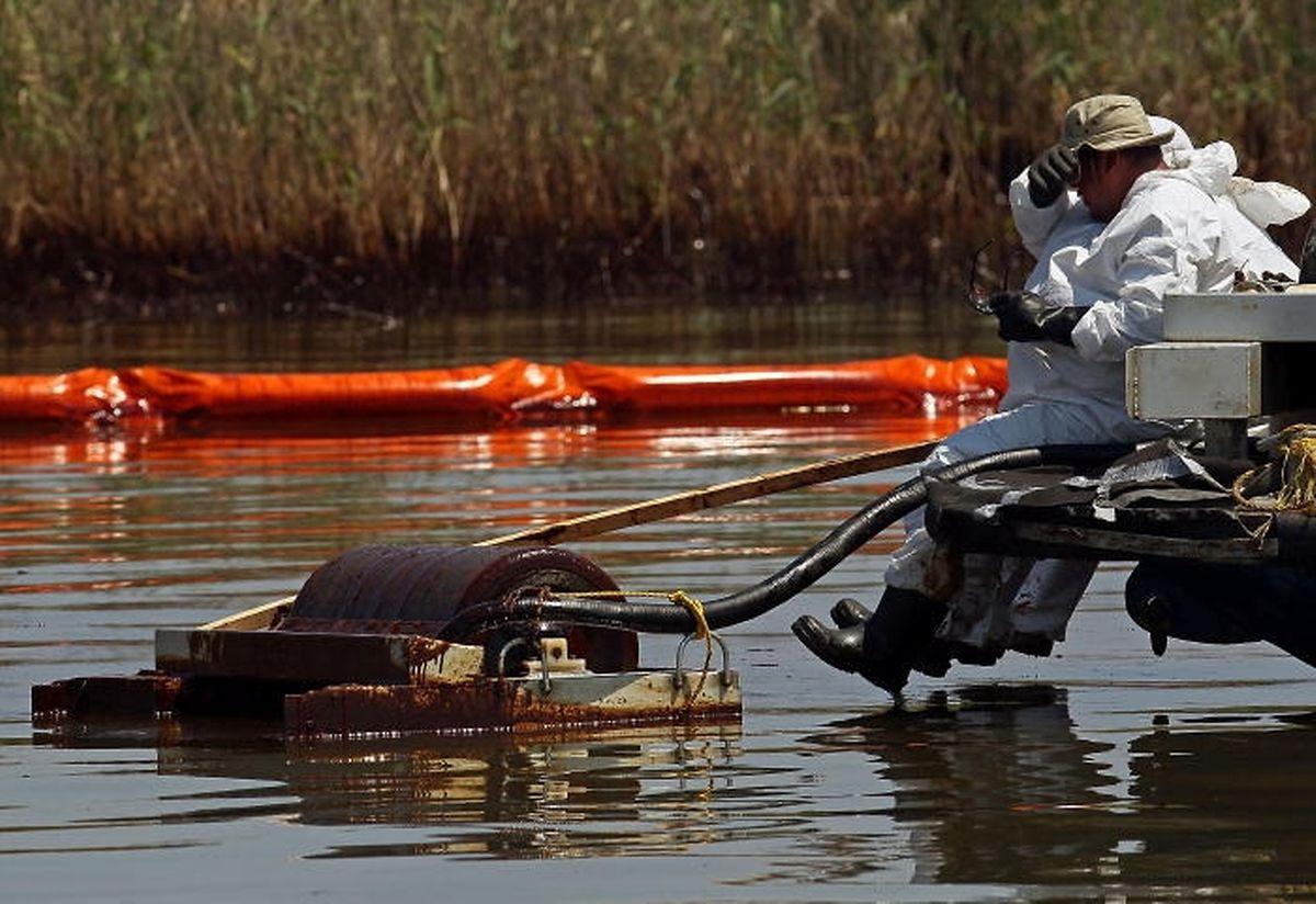 380 Millionen Liter Rohöl verschmutzten nach dem 20. April 2010 den Golf von Mexiko.