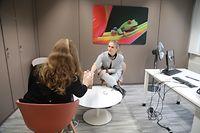 Lokales, Bahnhofviertel, Centre Äddi-C, Dr Claude BESENIUS chargée de Direction et psychologue et Esther FROSIO psychologue  Foto Anouk Antony