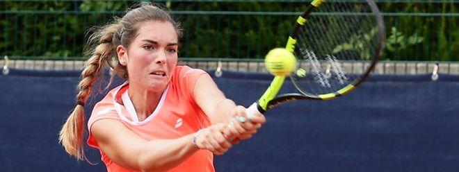 Eléonora Molinaro quitte le tournoi de Coxyde avec les honneurs.