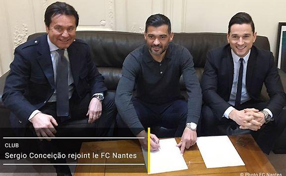 Oficial: Sérgio Conceição é o novo treinador do Nantes
