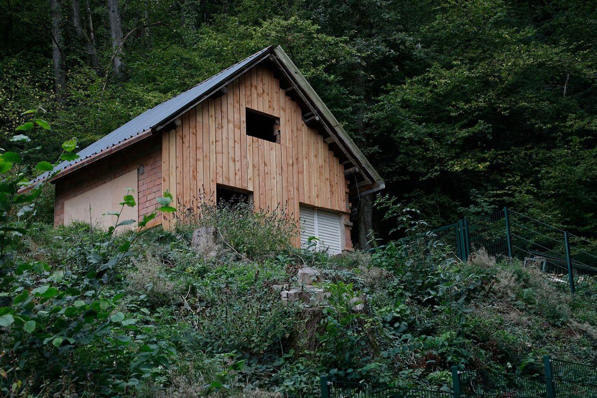 Das Gartenhäuschen, das Traversini umbauen ließ.
