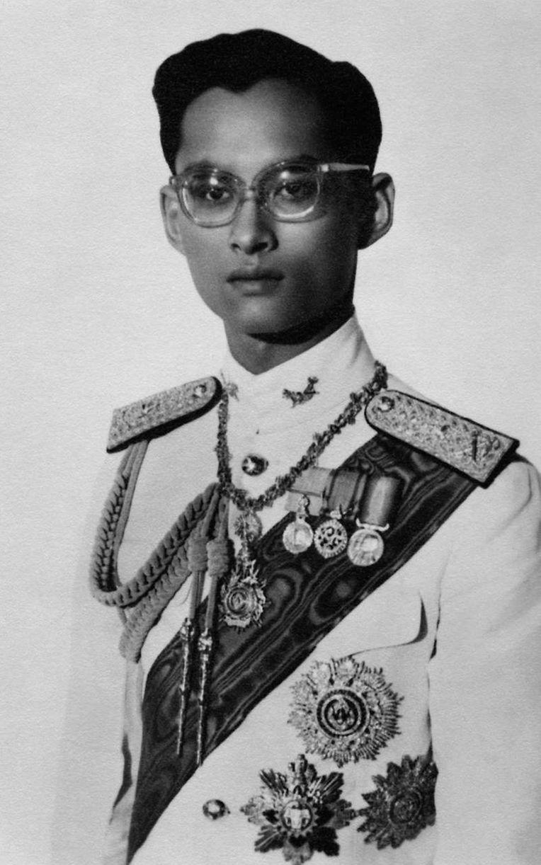Ein undatiertes Foto vom jungen König.