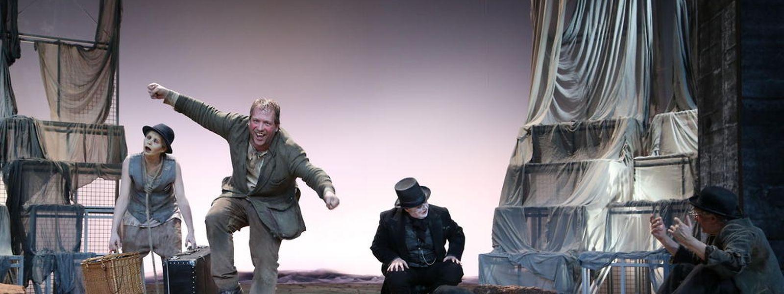 Untergangsstimmung? Von wegen! Jules Werner und Co. spielen mit viel Humor.