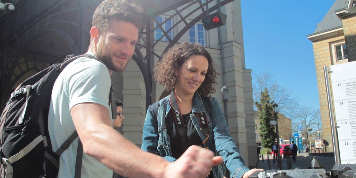 """Auf der Durchreise machen Schüler und Lehrer aus dem """"Collège de Paris"""" für einen Tagesausflug in Luxemburg Halt und erkunden die Hauptstadt"""