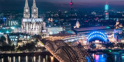 Cologne Cathedral despite war ravages is still a highlight of the city's skyline Photo: Shutterstock