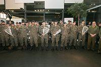 26 Soldaten waren auf Mission in Litauen.
