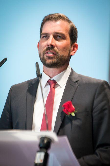 Yves Cruchten wurde mit großer Mehrheit an die Parteispitze gewählt.