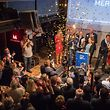 Die DP gewinnt bei den Europawahlen mehr als sechs Prozent hinzu und trägt so maßgeblich zur Stärkung der Dreierkoalition bei.