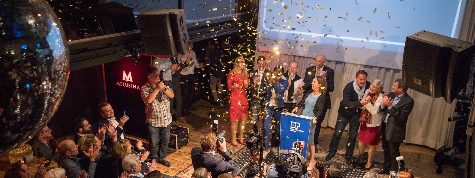 Die DP ist der eindeutige Sieger der Europawahlen: Ein Sitz mehr, ein Plus von 6,67 Prozent und die Liberalen sind zum ersten Mal die stärkste politische Kraft im Land.