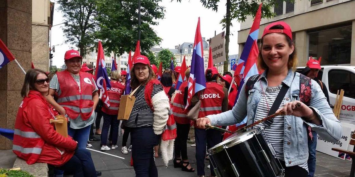 La grève s'est propagée à la capitale