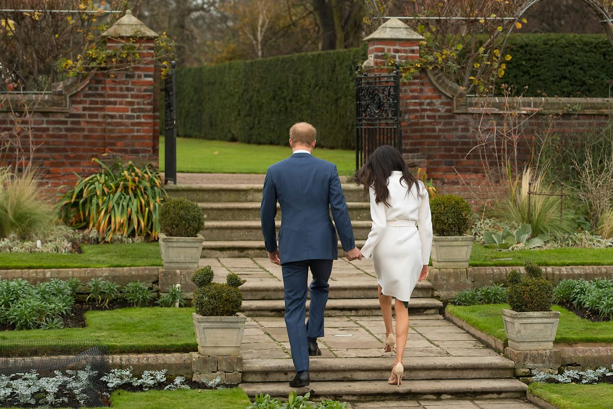 Ende März kehrten Harry und Meghan dem britischen Königshaus den Rücken zu. (Foto zur Bekanntgabe ihrer Verlobung im Jahr 2017)