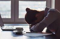Das flexible Arbeiten kann psychische Belastungen verstärken.