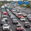 Mit 90.000 Autos täglich der Hotspot des nationalen Verkehrsaufkommens: Die A6 zwischen Cessinger und Gaspericher Kreuz.