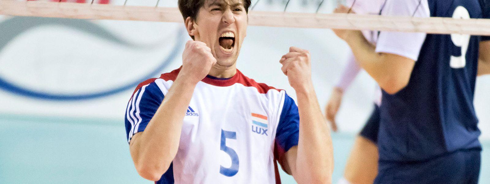 Arnaud Maroldt und seine Team-Kollegen zeigten gegen Norwegen eine eindrucksvolle Leistung.
