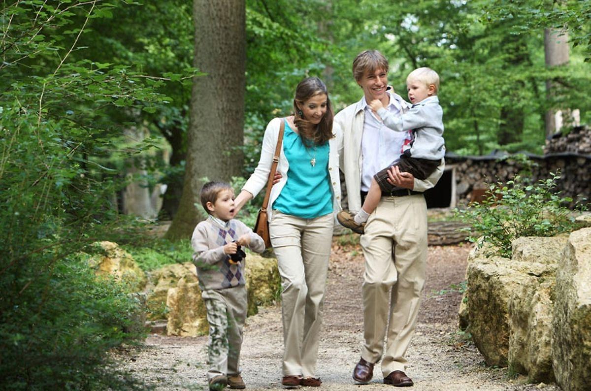 Die Prinzen Gabriel und Noah sind die Kinder von Prinzessin Tessy und Prinz Louis.