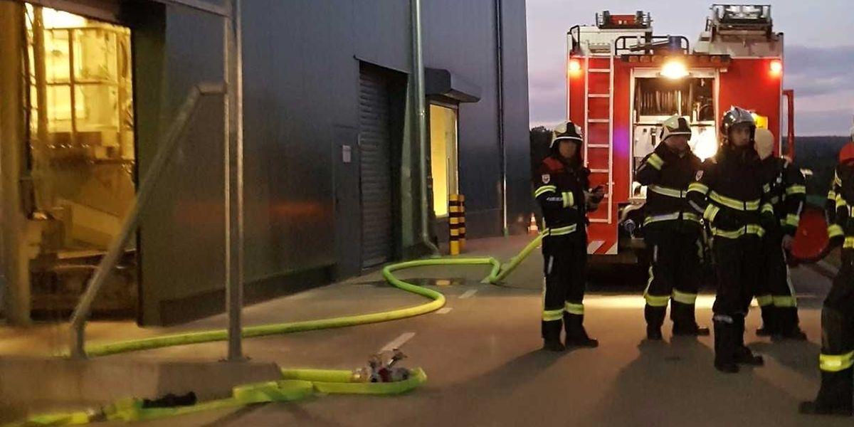 Die Feuerwehren aus Bissen, Colmar-Bierg und Lintgen hatten den Brand schnell im Griff.