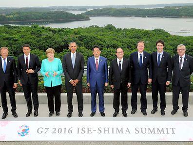 Die G7-Chefs zeigen sich stark und bieten China und Russland die Stirn