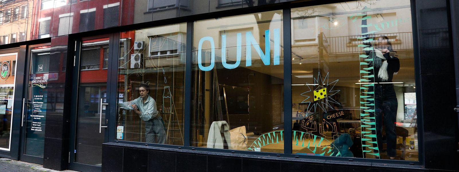 L'épicerie Ouni, rue de la Libération à Dudelange, ouvrira ses portes au printemps.