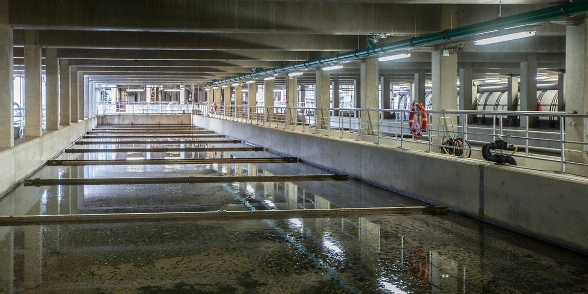 Insgesamt 81 Millionen Euro kostet der Um- und Ausbau der Kläranlage in Bleesbrück.