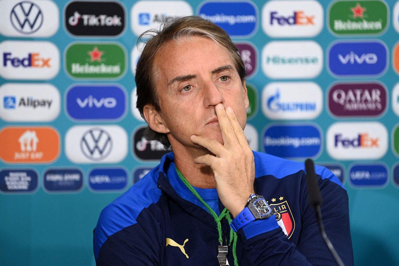 Roberto Mancini va devoir trouver la bonne stratégie pour faire chuter l'Angleterre à domicile.Pas simple, mais possible.