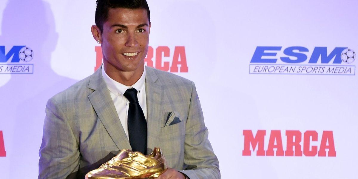 Cristiano Ronaldo quer continuar a bater recordes