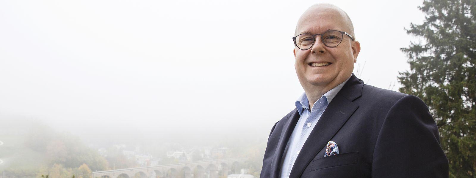 Marco Houwen, fondateur de LU-CIX, préside à l'organisation des Luxembourg Internet Days.