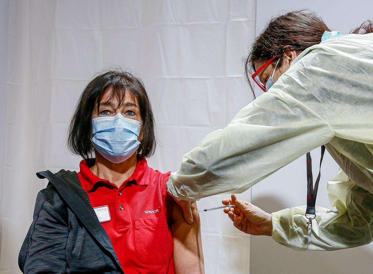 Sonja Kohnen, Pflegerin im Sanatorium in Vianden.