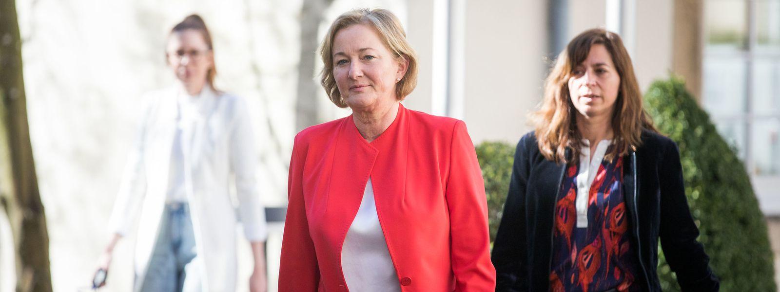 Gesundheitsministerin Paulette Lenert (LSAP) ist seit dem Ausbruch der Corona-Krise im Dauereinsatz.
