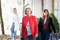 Pressekonferent Paulette Lenert, Foto: Lex Kleren/Luxemburger Wort