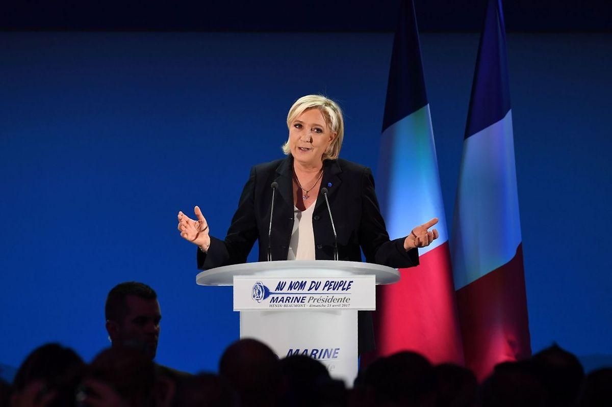 "Mit Marine Le Pen würde ein ""Frexit"" in greifbare Nähe rücken."