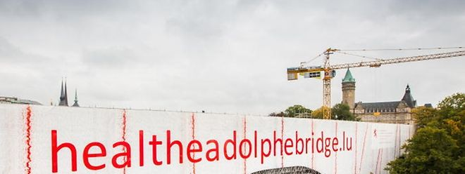 """In Kürze soll der """"Pont Adolphe"""" wieder in Betrieb genommen werden."""