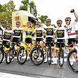 Das Team Sky mit: Jonathan Castroviejo (E), Luke Rowe (GB), Gesamtsieger Geraint Thomas (GB), Chris Froome (GB), Wout Poels (NL), Egan Arley Bernal (COL) und Michal Kwiatkowski (PL) - Tour de France 2018 – 21. Etappe – Houilles / Paris – 116km – Foto: Serge Waldbillig