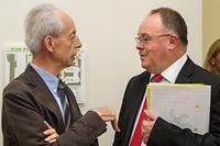 Das Kräftemessen zwischen Copas-Präsident Marc Fischbach und Minister Romain Schneider ging zugunsten der Copas aus.