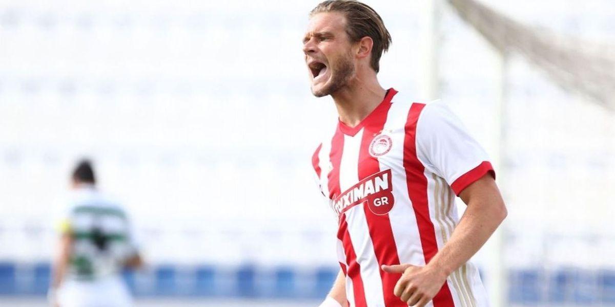 Guillaume Gillet n'est resté qu'une saison à l'Olympiakos, en 2017-2018