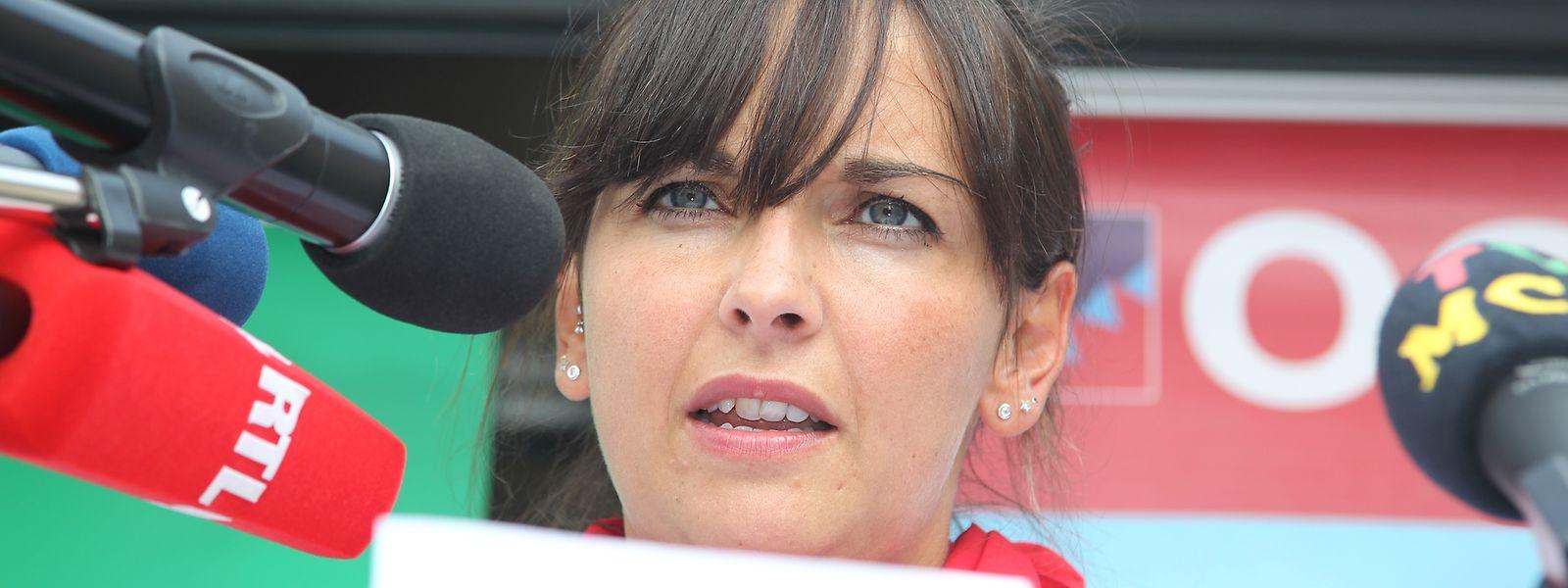 Nora Back, nouvelle secrétaire générale de l'OGBL, pourrait succéder à André Roeltgen, actuel président du syndicat.