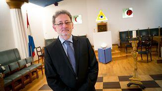 Jean Schiltz ist Großmeister der Grande Loge de Luxembourg.