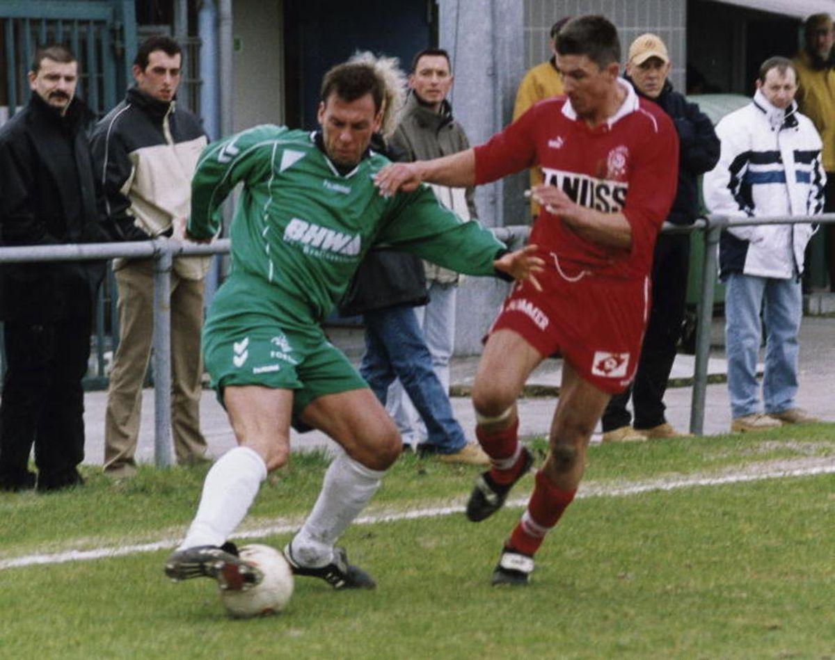 Le RM Hamm a été le dernier club pour lequel Yves Heinen a joué.au début des années 2000.