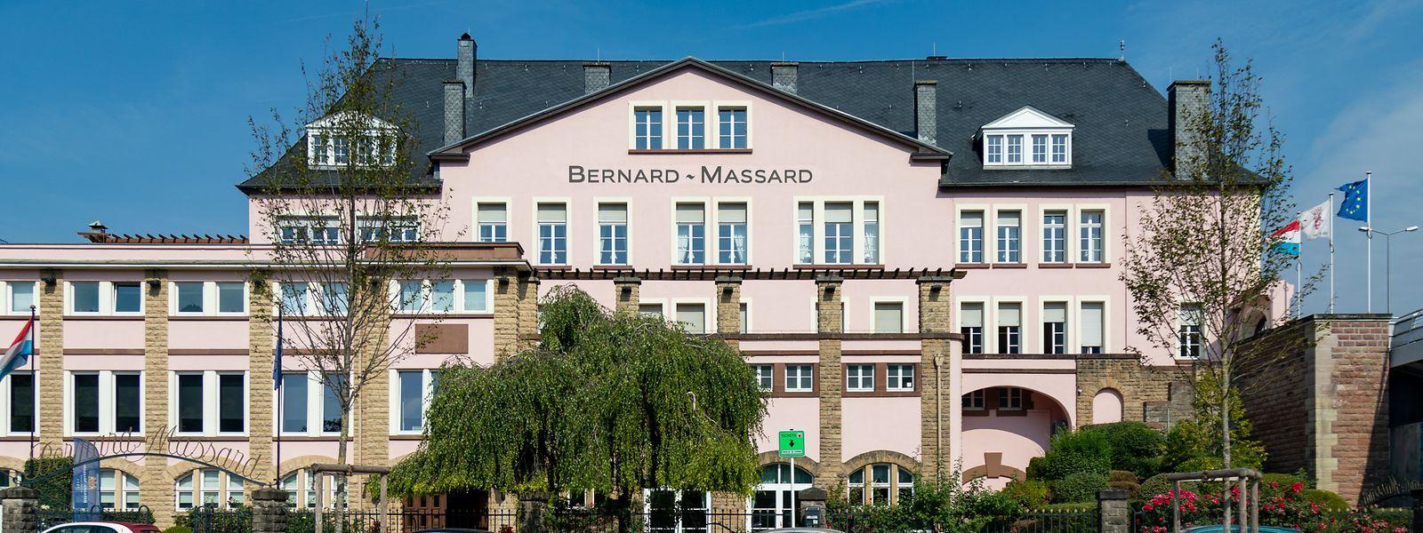 Der Sitz der Caves Bernard-Massard befindet sich in Grevenmacher, nahe der Grenze zu Deutschland.