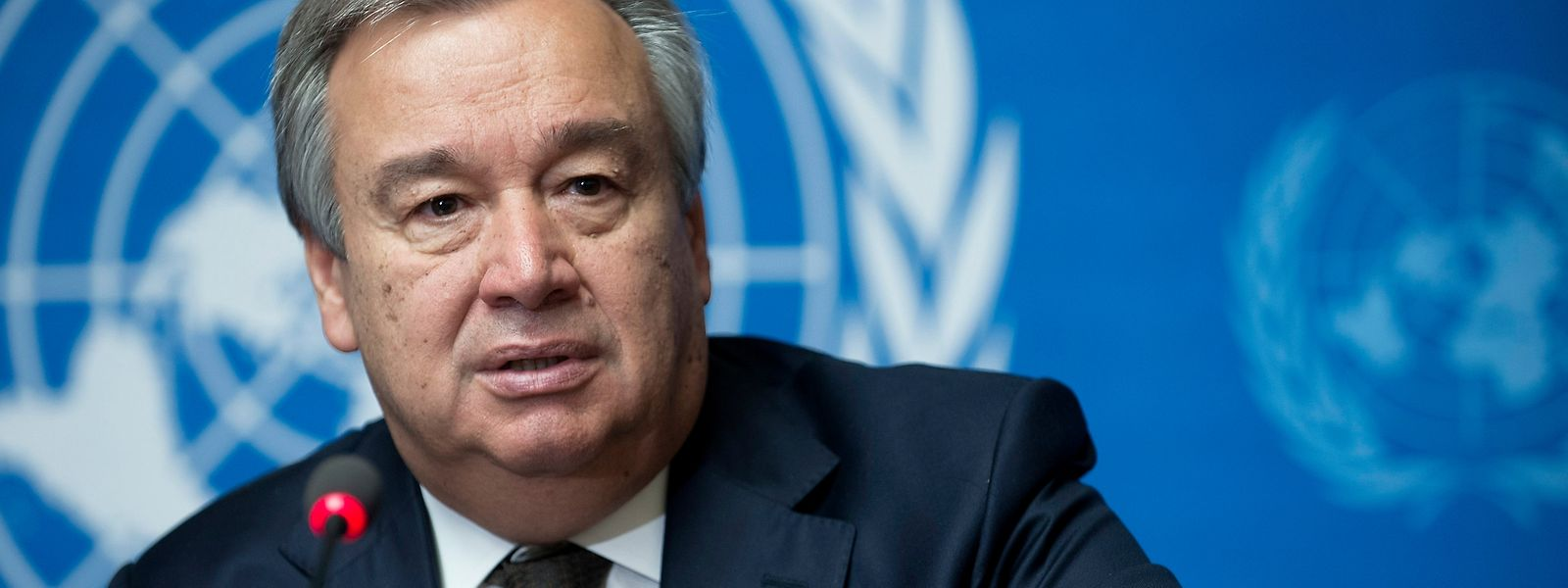 O secretário-geral da ONU, António Guterres.