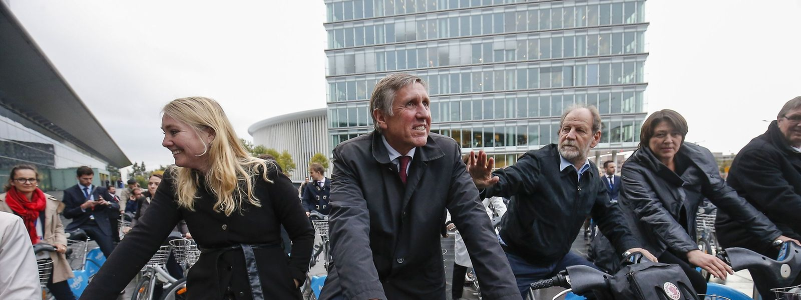 Grüne Akzente auf EU-Ebene: François Bausch verzichtet auf CO2-lastige Dienstwagen.