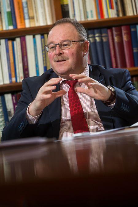 Kooperationsminister Romain Schneider