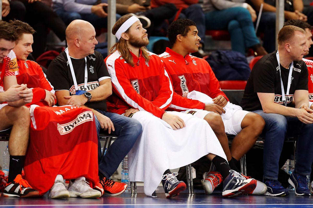 Dänemarks Mikkel Hansen (weißes Strinband) ist zweimaliger Welthandballer.