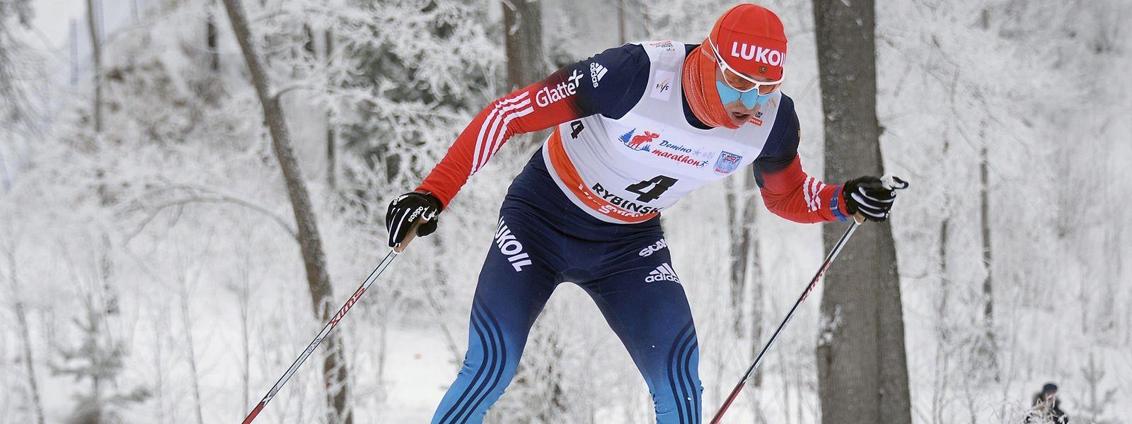Skilangläufer Alexander Legkov muss zuschauen.
