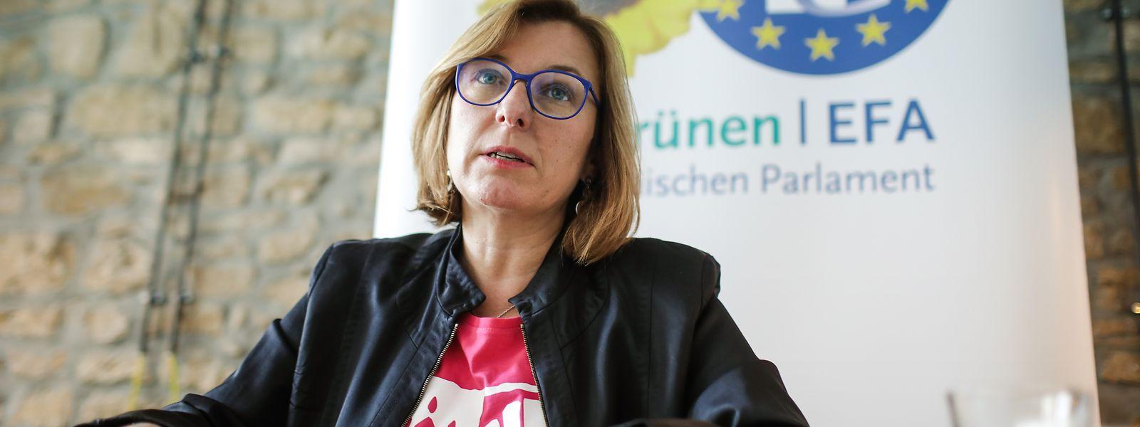 Tilly Metz war die Spitzenkandidatin von Déi Gréng für die Europawahlen.