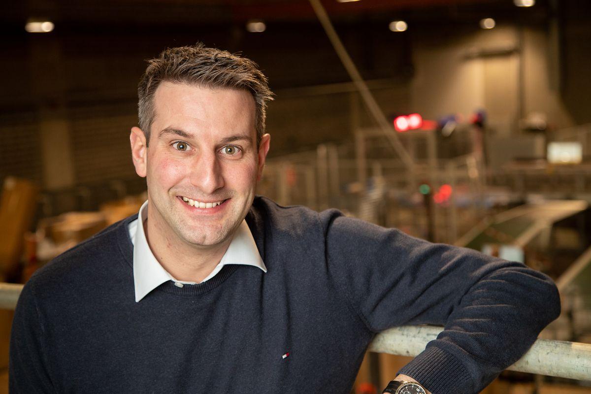 Pour Michael Billert, chef de service responsable de la distribution des colis pour Post, le pic d'activité a été atteint à la veille de la Saint Nicolas.