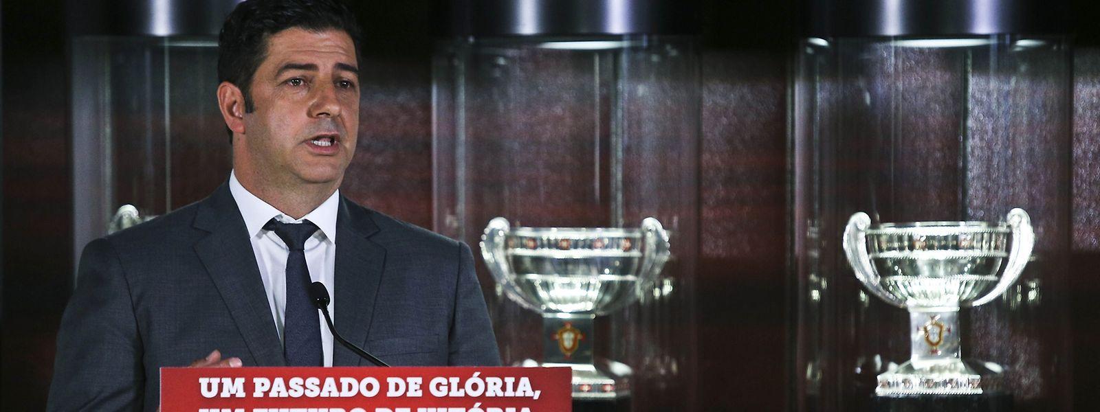 O novo treinador do Benfica quer continuar na senda das vitórias