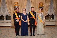 Réception de Nouvel An - Palais Grand-Ducal  - Luxembourg - Ville - Palais Grand-Ducal - 16/01/2020 - photo: claude piscitelli
