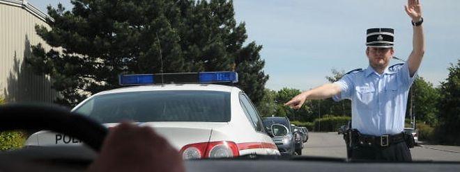 Der Mann wurde in der Grand-Rue in Differdingen von der Polizei gestoppt.